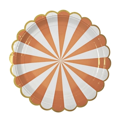 assiette-jetable-carton-rayures-orange-fete-halloween-meri-meri