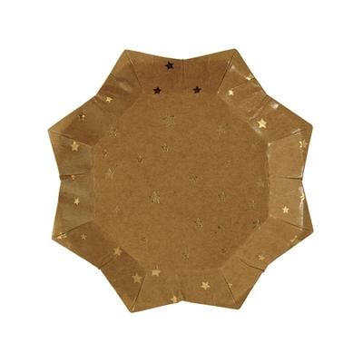 assiette-jetable-noel-en-carton-kraft-forme-etoile-meri-meri