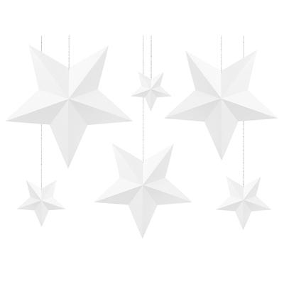 suspension-etoile-3d-papier-blanc-deco-noel-anniversaire