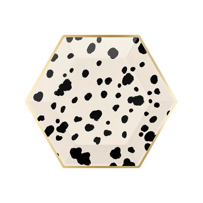 assiette-jetable-carton-nor-et-blanc-imprime-dalmatien-paperboy