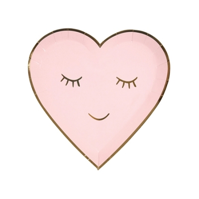 assiette-jetable-coeur-qui-sourit-rose-blush-meri-meri