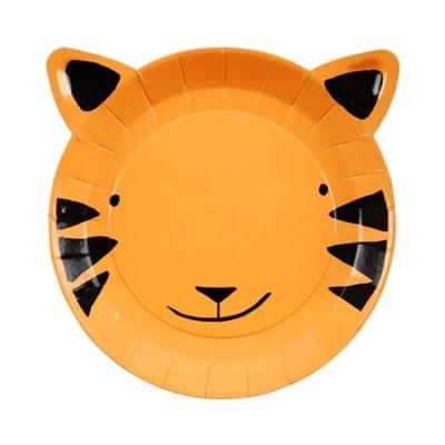 assiette-jetable-tigre-en-carton-anniversaire-enfant-meri-meri