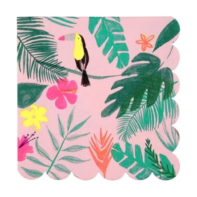 serviette-jetable-papier-imprime-tropical-meri-meri