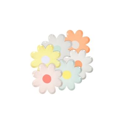 assiette-jetable-en-forme-de-fleur-marguerite-pastel-meri-meri