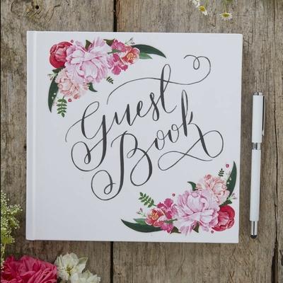 livre-d-or-mariage-fleurs-boheme-ginger-ray