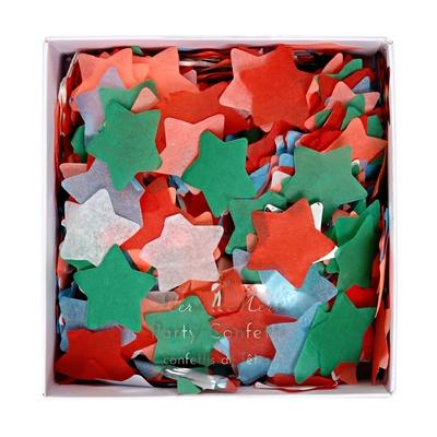 confetti-etoile-noel-en-papier-de-soie-vert-et-rouge-meri-meri
