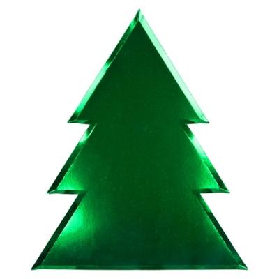 assiette-jetable-sapin-vert-en-carton-metallise-noel-meri-meri