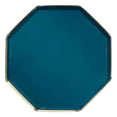 assiette-jetable-carton-bleu-canard-meri-meri
