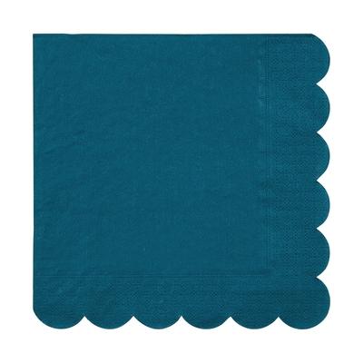 serviette-jetable-couleur-bleu-canard-en-papier-meri-meri