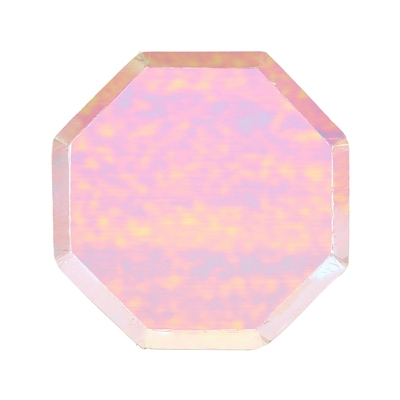 petite-assiette-irisee-en-carton-decoupe-octogonale-meri-meri