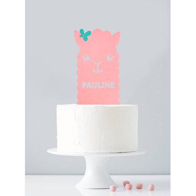 cake-topper-anniversaire-lama-decoration-gateau-personnalise-sweet-party-day