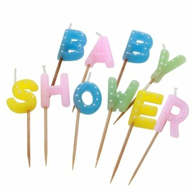 Bougie Baby Shower