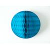 boule-papier-alveole-turquoise