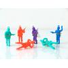 6 figurines parachutistes