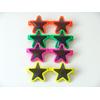 12 lunettes plastique en forme d'étoile
