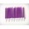 bougie-anniversaire-violette-paillettes
