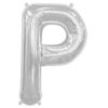 ballon-lettre-p-mylar-argent