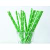 paille-papier-vert-etoile