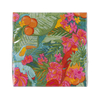 20 serviettes jetables tropical