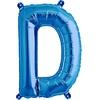 ballon-en-forme-de-lettre-d-bleu
