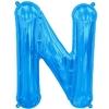 ballon-en-forme-de-lettre-n-bleu