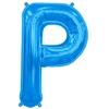 ballon-en-forme-de-lettre-p-bleu