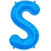 ballon-en-forme-de-lettre-s-bleu