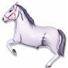 Ballon mylar cheval blanc