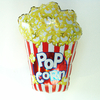 Ballon mylar popcorn