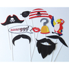 10 accessoires photobooth pirate