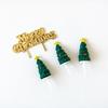 Décoration pour buche de Noel kit sapin