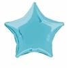 Ballon aluminium étoile bleu clair