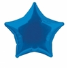Ballon aluminium étoile bleu roi