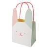 8 sacs cadeaux en papier lapin de paques