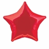 Ballon aluminium étoile rouge