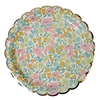 8 assiettes carton Liberty Poppy & Daisy