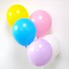12 ballons de baudruche assortiment pastel