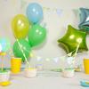 Kit déco anniversaire bebe garcon montgolfière