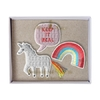 3 broches licorne