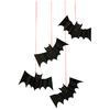 8 chauves-souris d'Halloween à suspendre