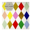 16 serviettes papier harlequin
