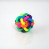 1 balle rebondissante multicolore