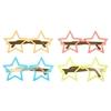 10 lunettes étoile en carton