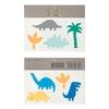 2 planches de tatouages dinosaure