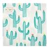 20 serviettes papier cactus