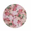 8 assiettes carton fleurs bohème chic