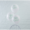 ballon-baudruche-latex-blanc-et-vert-menthe-hello-world-pour-baby-shower-ginger-ray