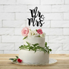 cake-topper-mariage-mr-and-mrs-en-carton-noir