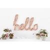 ballon-hello-aluminium-rose-gold-northstarballoons