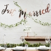 Guirlande Just Married rose gold